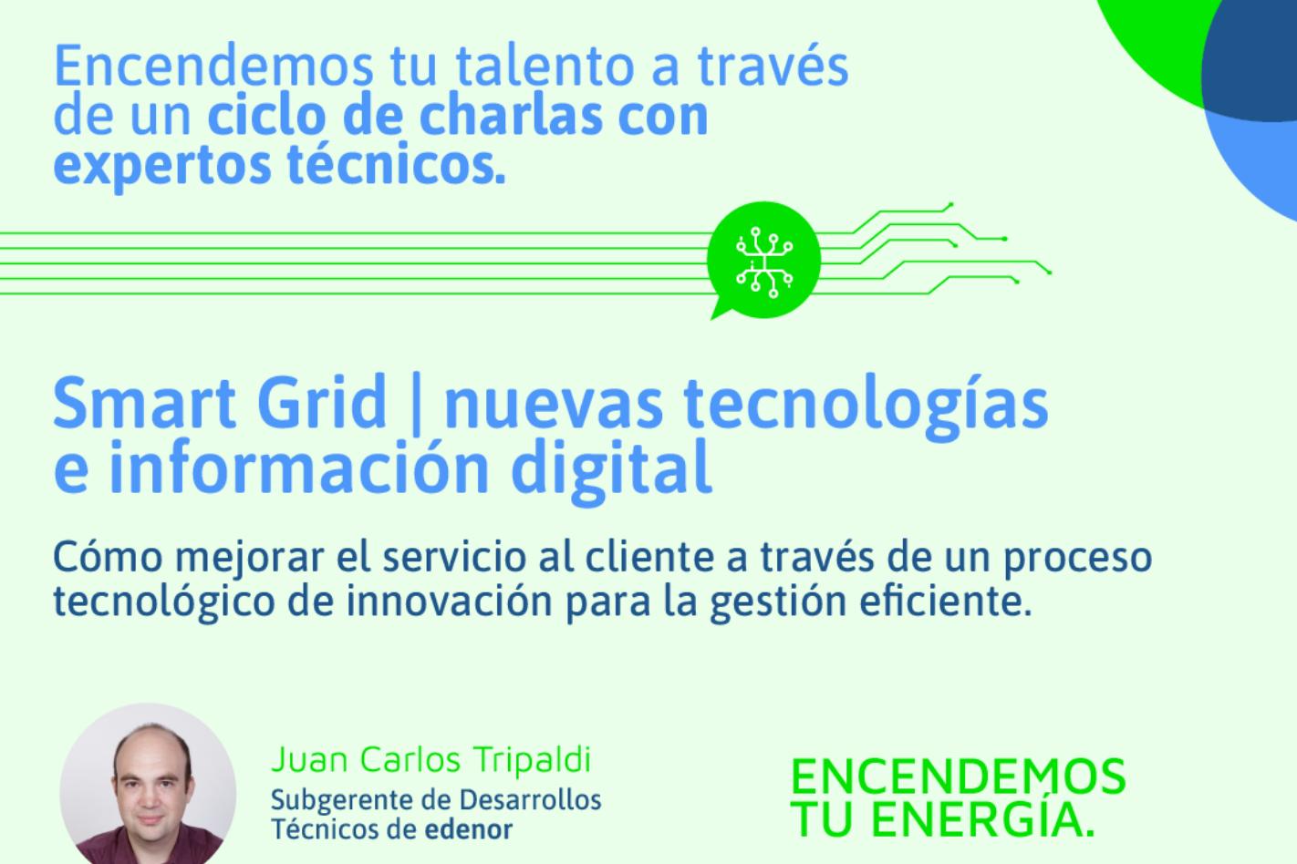"""UTN y Edenor te invitan a """"SmartGrid-Nuevas Tecnologías e información digital"""""""