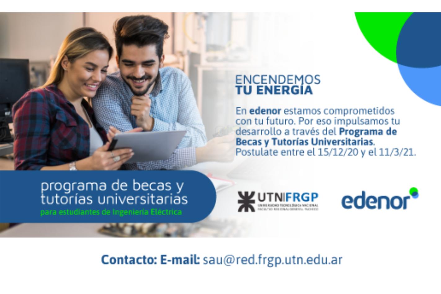Programa de Becas y Tutorías Universitarias de Edenor