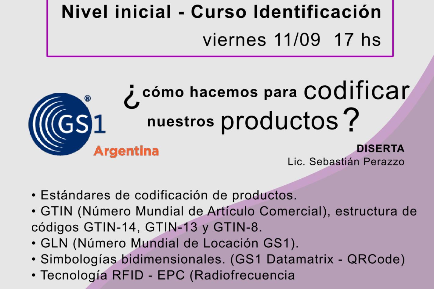 Nivel Inicial - Curso Identificación  ¿Cómo hacemos para codificar nuestros productos?