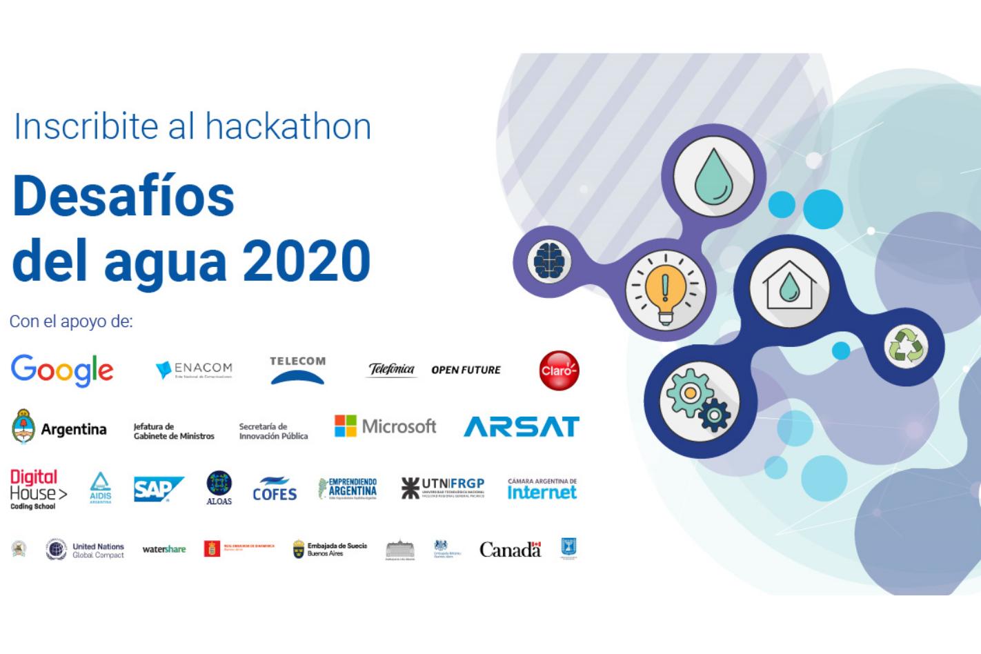 """Hackathon """"Desafíos del agua"""""""