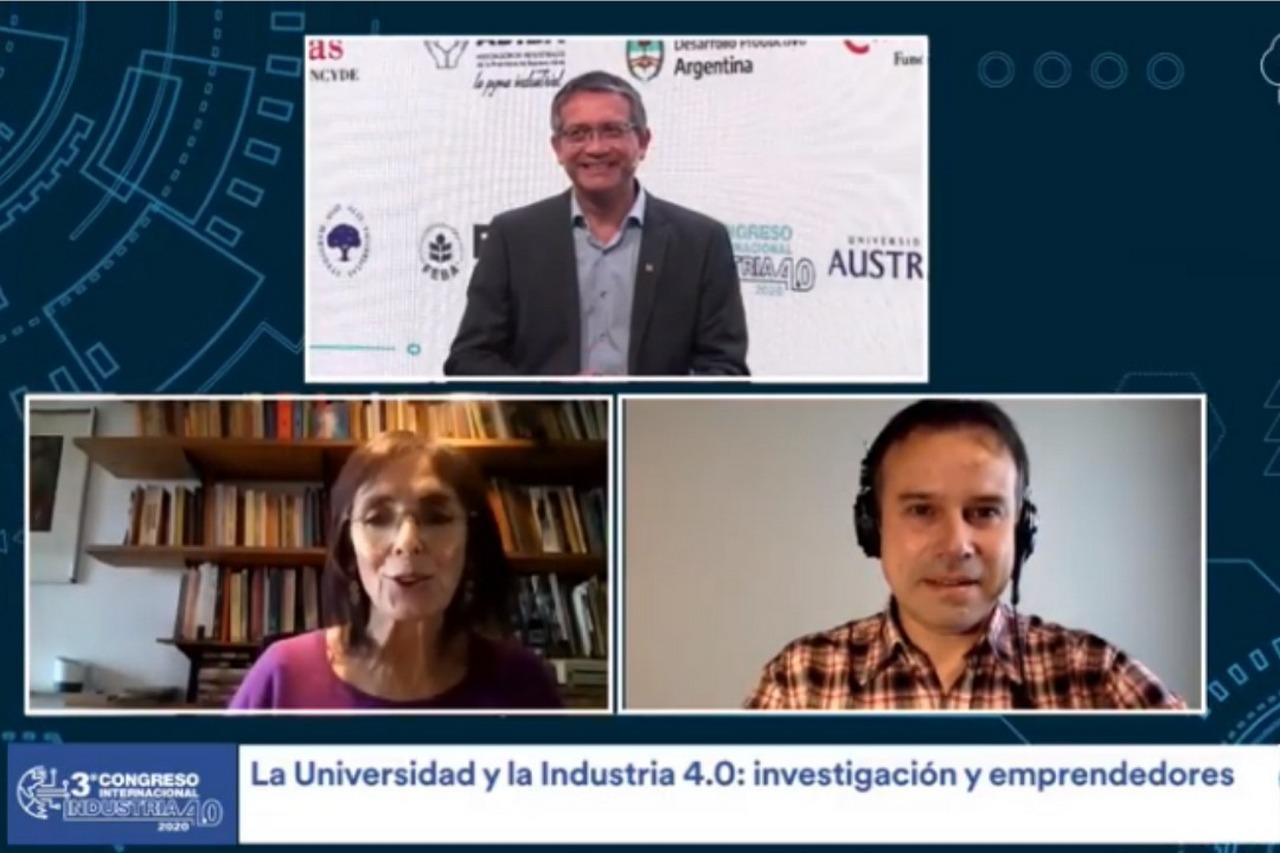 La Universidad y la Industria 4.0: investigación y emprendedores.