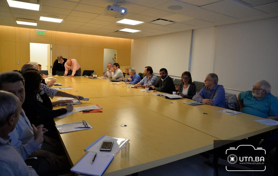FRGP Participó de una nueva reunión del CODIC