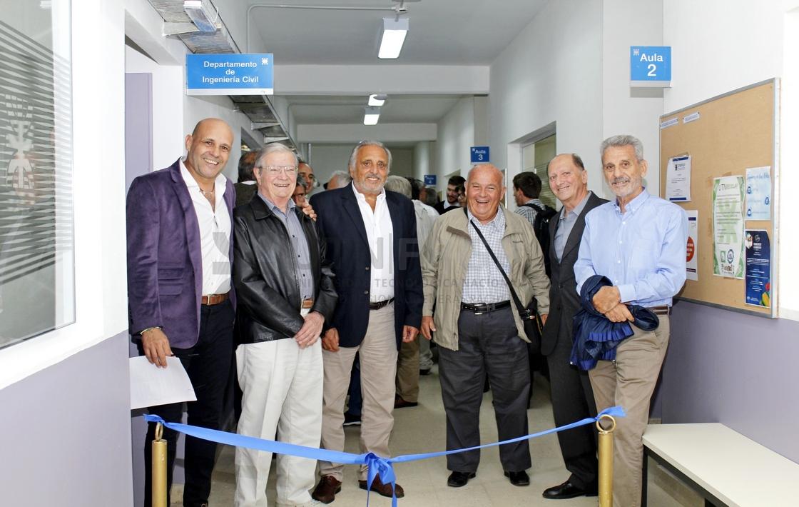 Se inauguró el nuevo Departamento de Ingeniería Civil