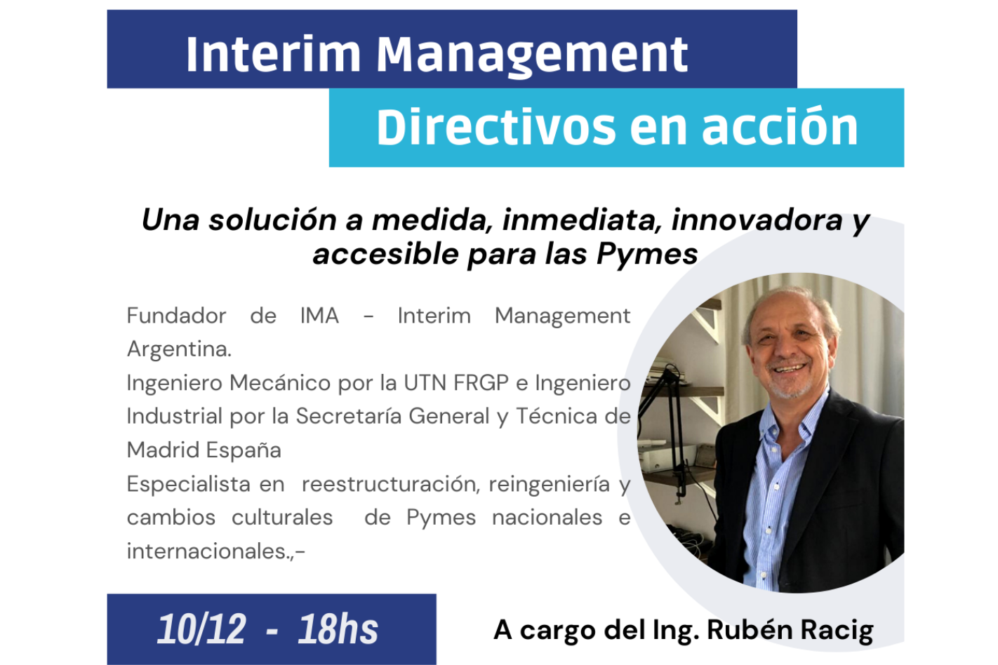 Webinar: Interim Management: Directivos en acción
