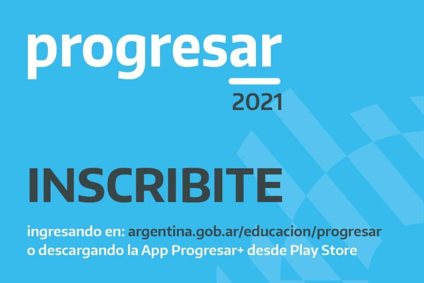 Convocatoria Progresar 2021 para Nivel Superior.