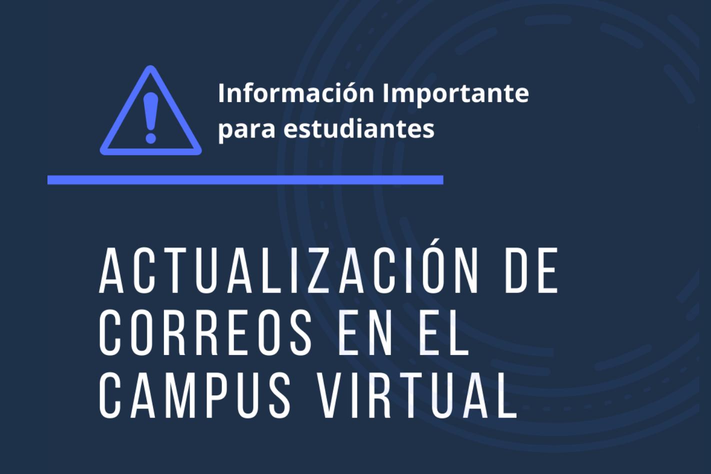 Aviso para Estudiantes - Correo Institucional