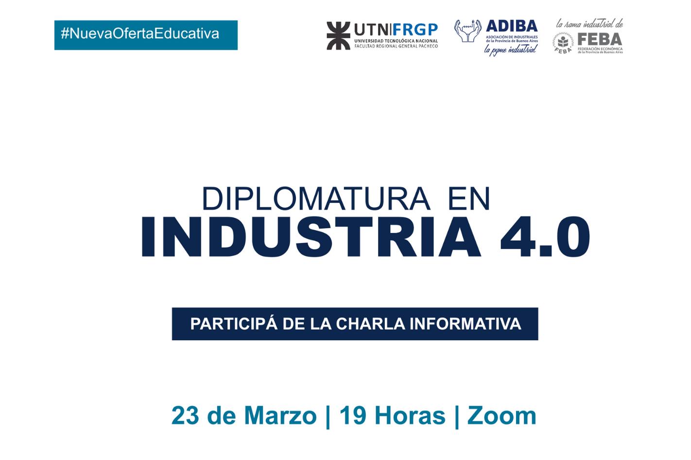 Charla Informativa - Diplomatura en Industria 4.0