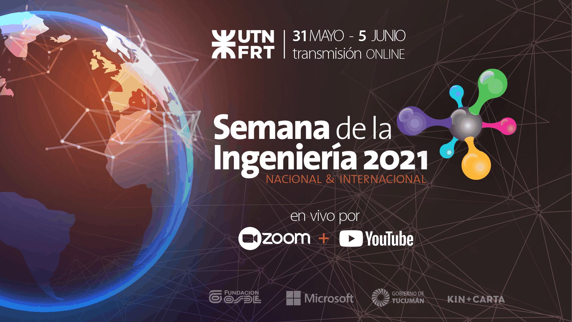 Semana de la Ingeniería 2021 Nacional e Internacional en UTN