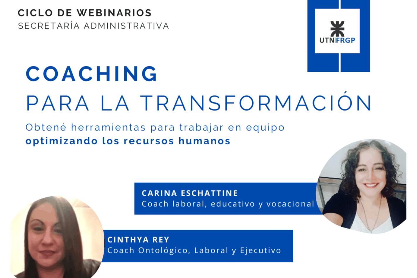 Webinar: Coaching para la transformación