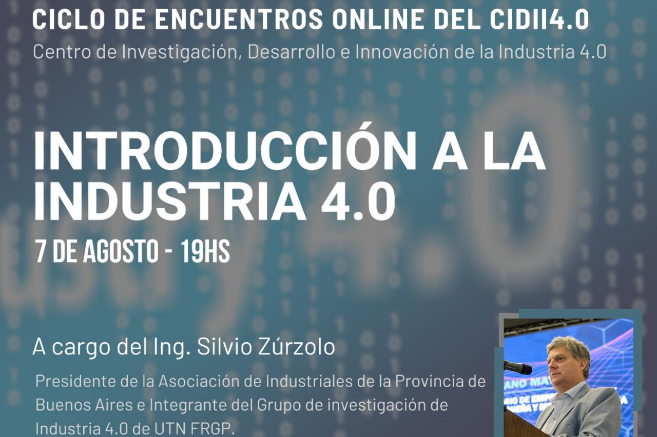 """Charla """"Introducción a la Industria 4.0"""""""